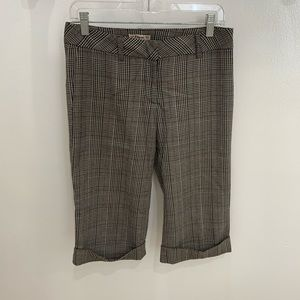 Forever 21 Size Small Geometric Pattern Crop Pants